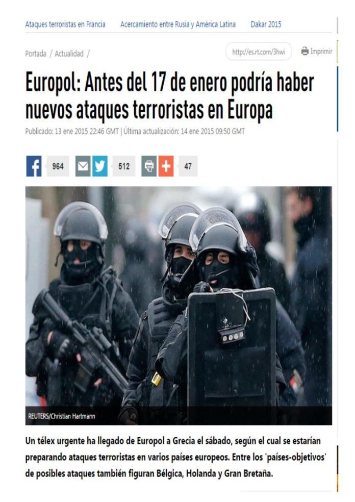 antes 17 enero nuevos ataques europa
