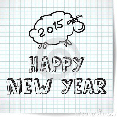 fondo-en-el-tema-del-año-nuevo-con-el-cordero-en-44689113