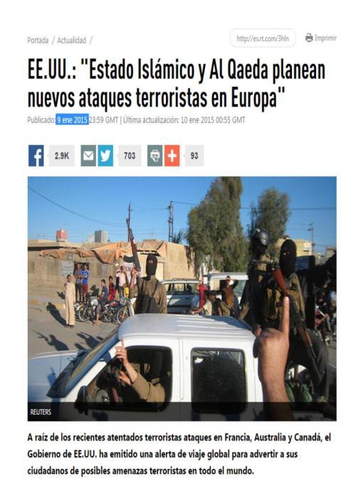 isis alaeda mas atentados europa