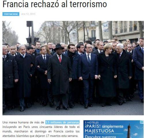 manifestaccion de paris 11-11 3,3 millones