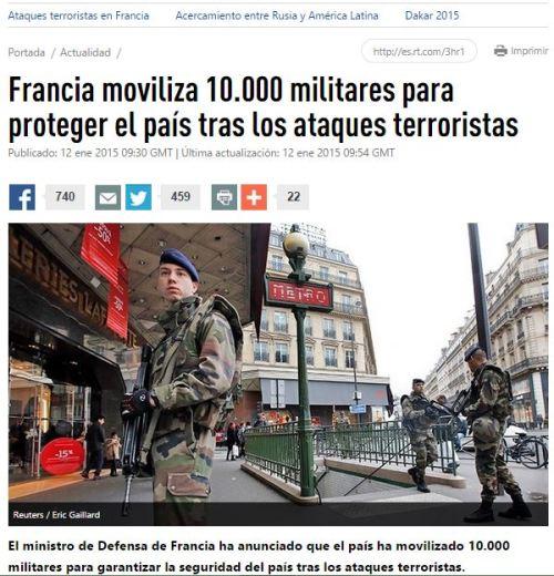 militares francia isis
