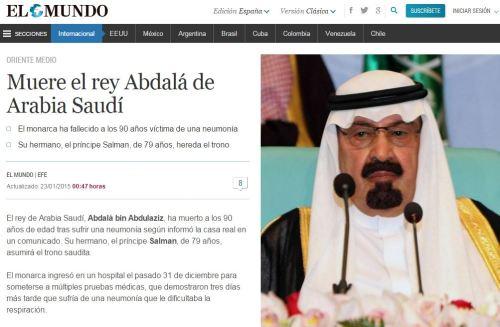 muere rey arabia saudi con 33046 dias o 13 dias despues de 33033