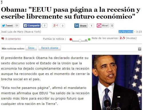 obama fin recesion primer dia retrogrado mercurio