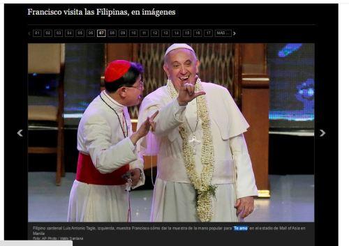 te amo cornuto papa filipinas