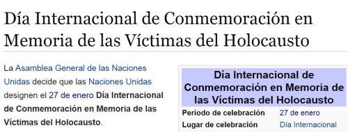 victimas holocausto 27 enero