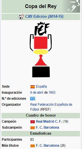 2015 112 edicion copa rey