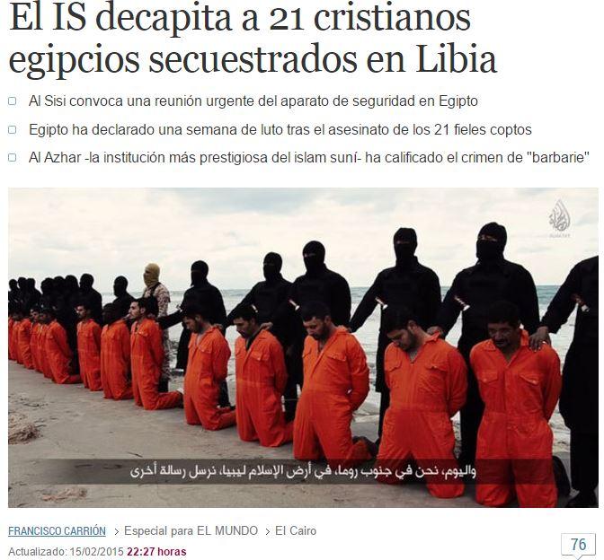 21 decapitados isis