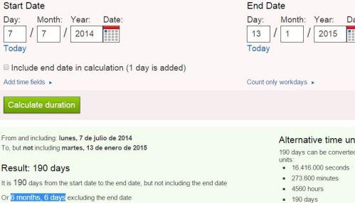 6 meses y 6 días desde cruz cosmica 7 de julio