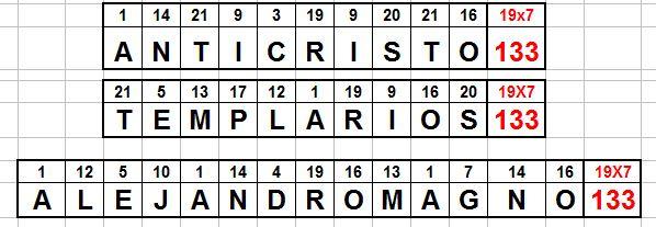 alejandro magno 133 templarios 133 anticristo