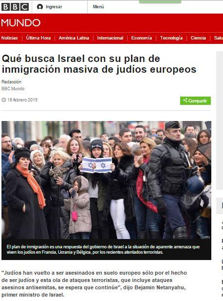 bbc israel inmigracion judios euopeos