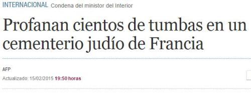 profanan tumbas judias francia