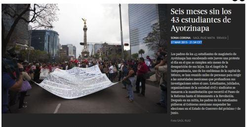 6 meses desaparecidos 43 estudiantes