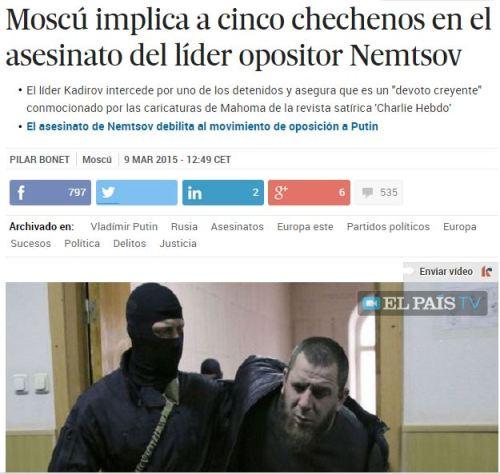 chechenos opisicion rusa
