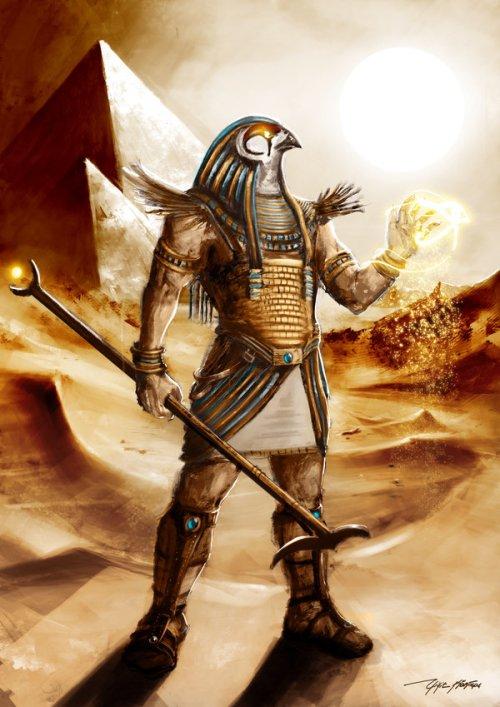 Horus_by_yigitkoroglu