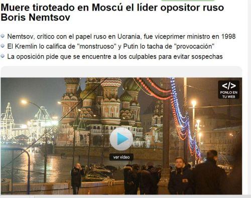 muere opositor ruso