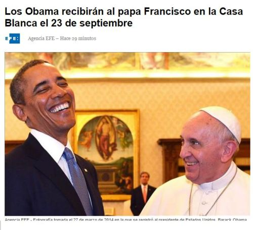 obama y papa francisco 23-09-15