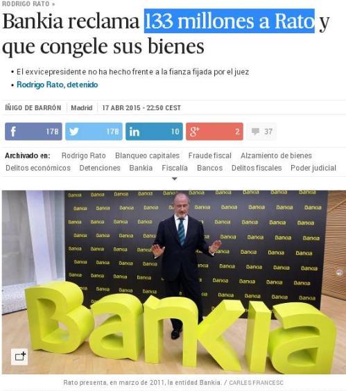bankia 133 millones rato