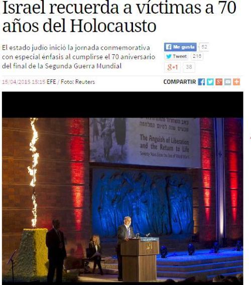 israel holocausto