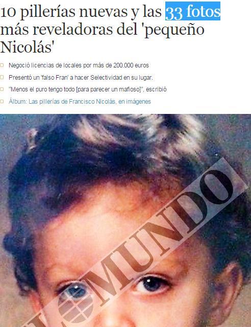 33 fotos nicolas