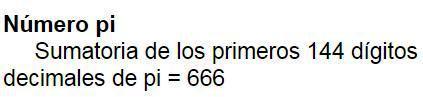 666 pi