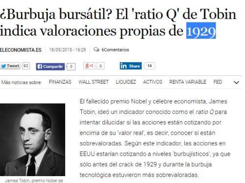burbuja bursatil 1929