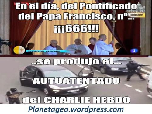 dia 666 del pontificado del papa autoatentados charlie hebdo