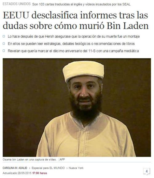 eeuu desclasifica informes bin laden