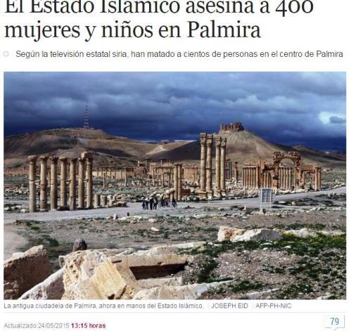 isis 400 palmira