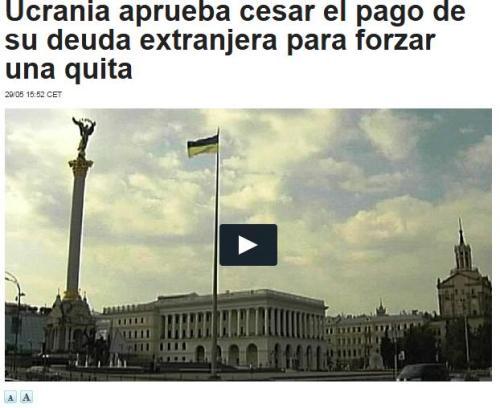 ucrania default