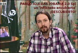 Bandera pirata de la muerte - Pablo Iglesias PODEMOS 333 texto