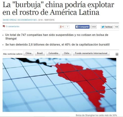 burbuja china america latina
