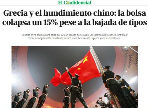china colpaso bolsa