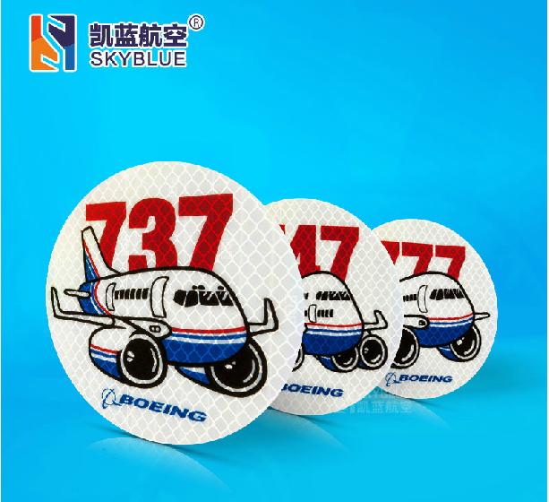 Sticker-Boeing-737-747-777-font-b-Aviation-b-font-Round-Sticker-Light-Reflecting-Water-Proof