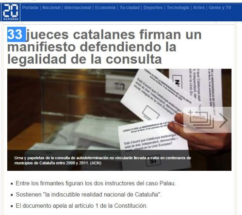 33 jueces catalanes