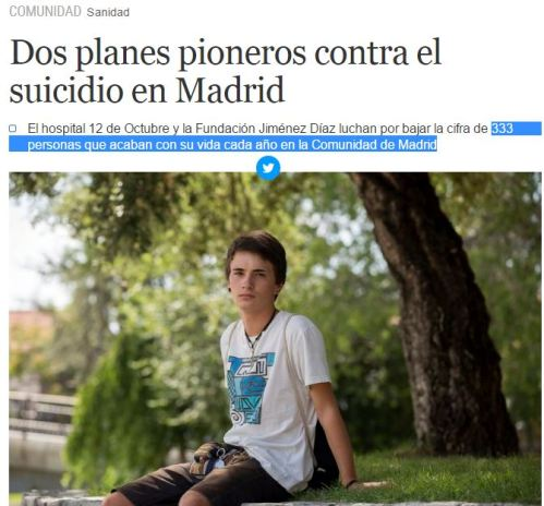 333 suicidios madrid