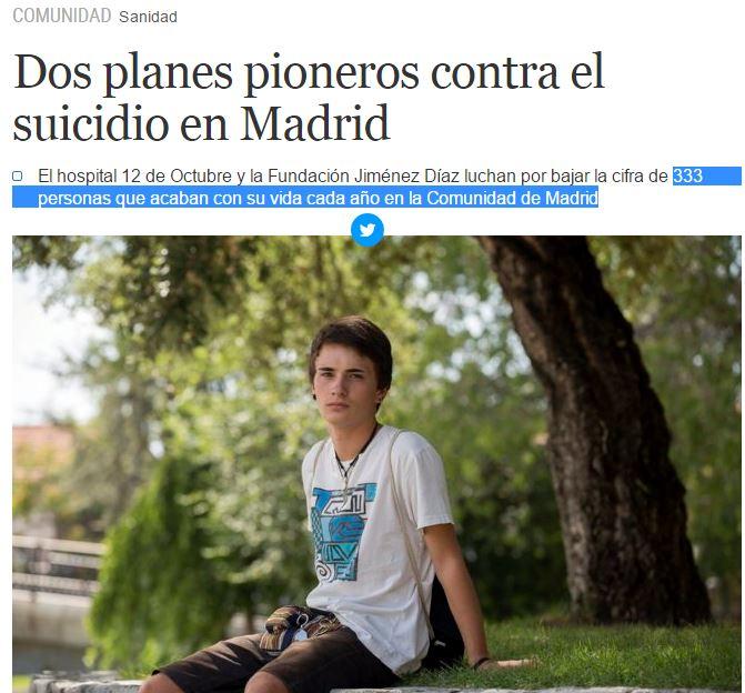 333 suicidios madrid