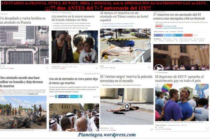 5 atentados mas la aprobacion matrimonio gay en eeuu 77 dias antes 11$ 7+7