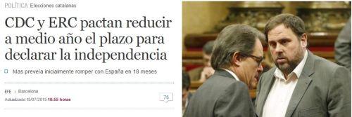 6 meses secesion cataluña