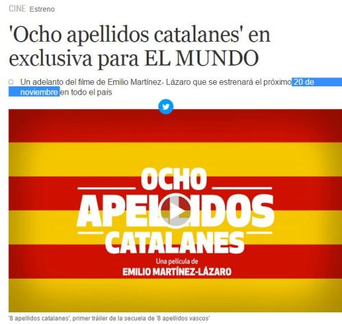 8 apellidos catalanes 20n