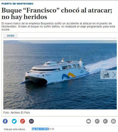 barco francisco