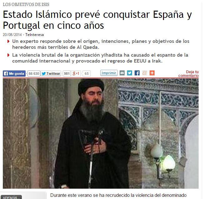 isis invasion españa y portugal