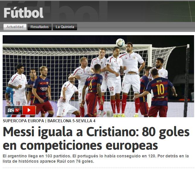 messias cristo 80 goles europa