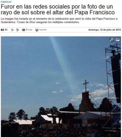 milagro papa