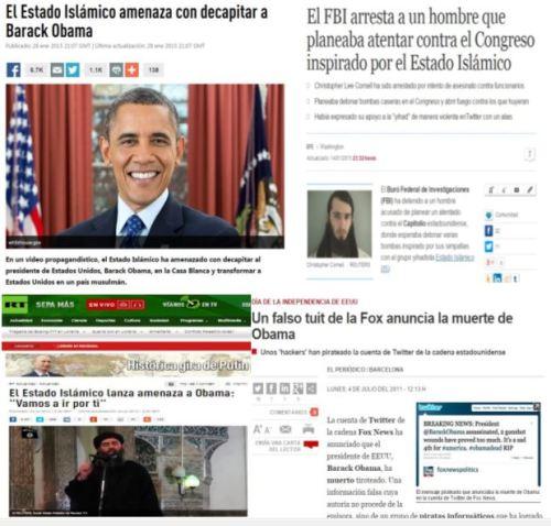 obama amenazas muerte