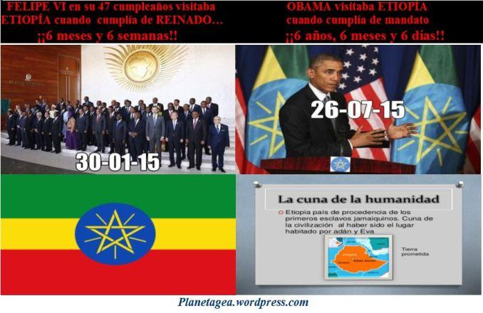 obama y felipe en etiopia 666