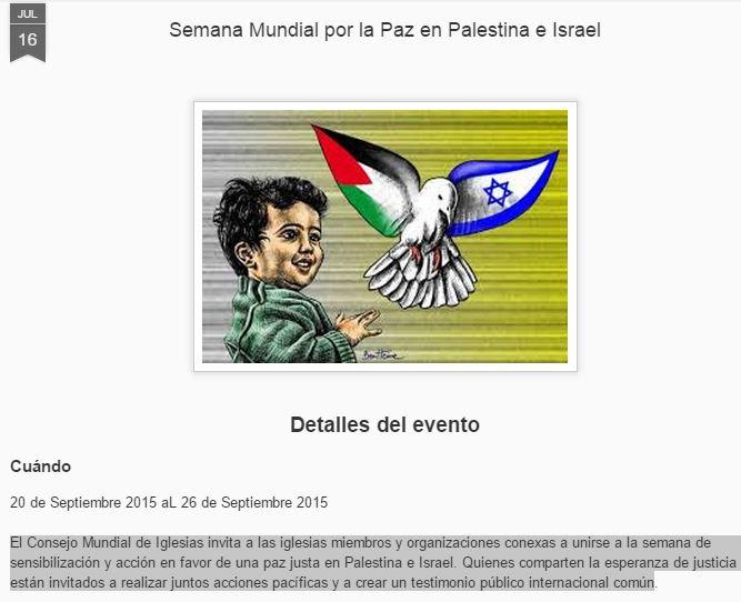 semana mundial por la paz
