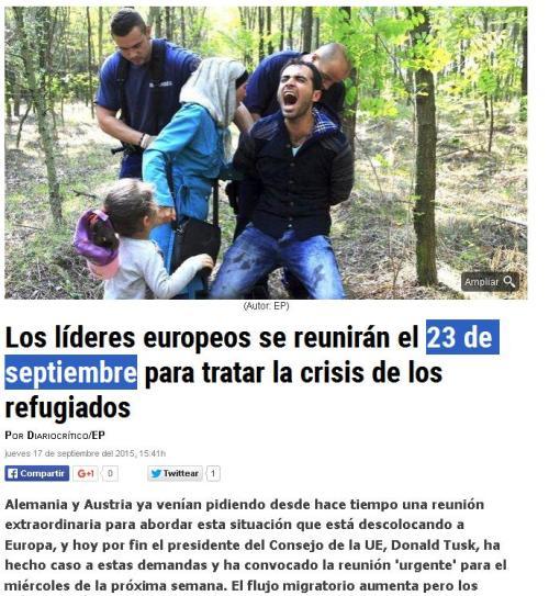refugiados 23 de septiembre