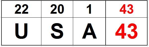 USA 43