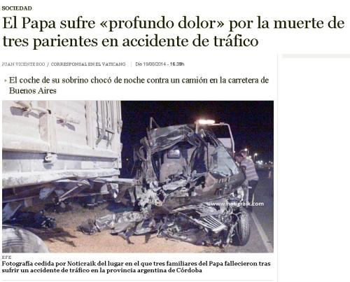 accidente 3 familiares papa