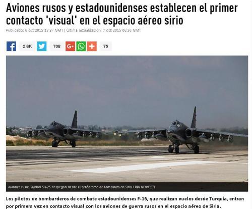 aviones rusos y eeuu